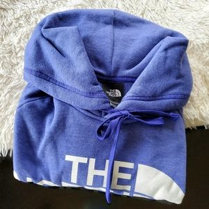 The North Face Heather Purple Long Sleeve Hoodie
